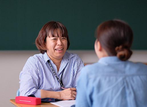 入学直後から就職を意識できる環境づくり