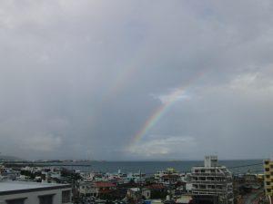 今日の虹🌈