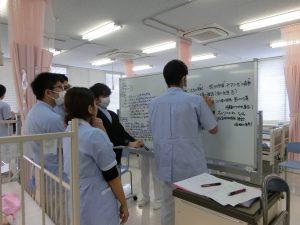 小児看護学のシュミレーション演習