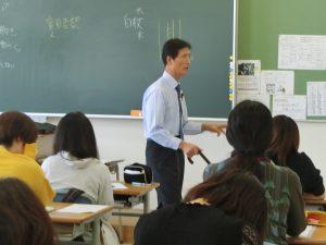1年生☆哲学の講義(*^▽^*)
