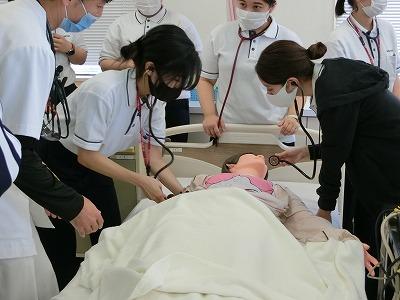 循環器看護の演習