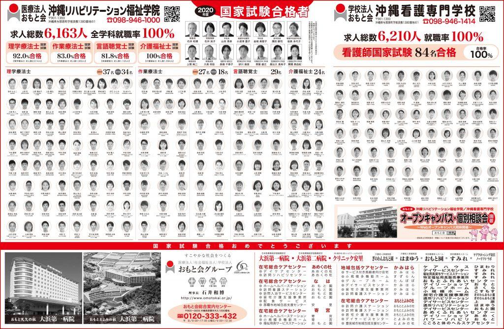 国家試験合格*祝*新聞掲載